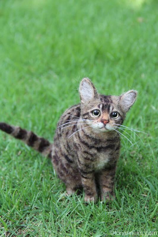 フェルト猫