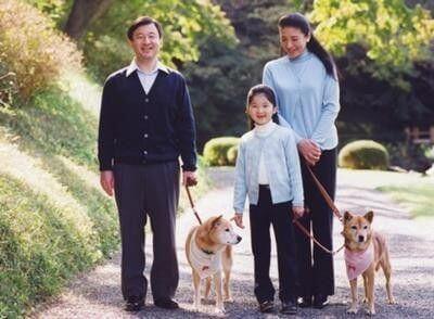 皇太子ご一家は動物好き