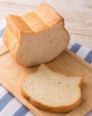 ネコ型食パン