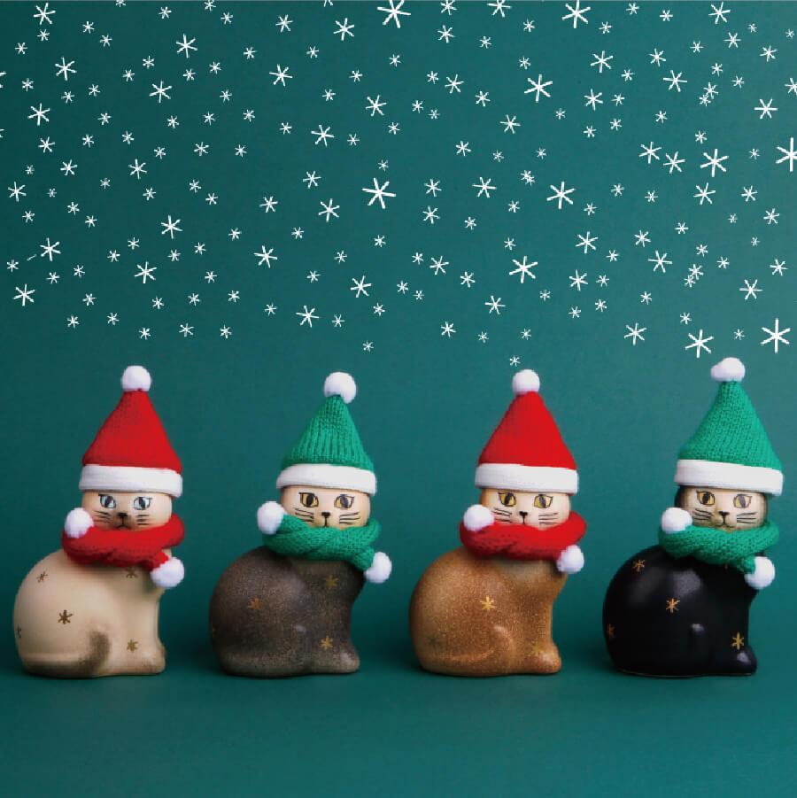猫クリスマス