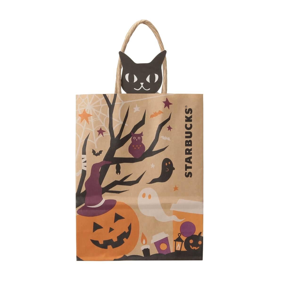 袋から黒猫